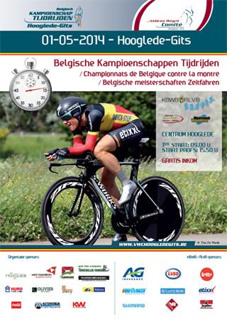 championnat de belgique contre la montre 2014
